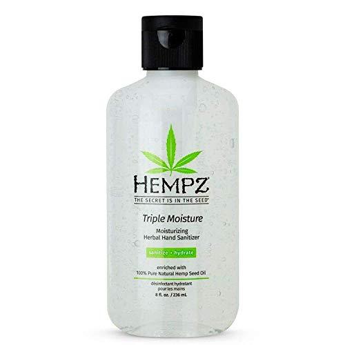 Hempz Sanitizer Moisturizing Herbal Hand Sanitizer, 2.25 Ounce