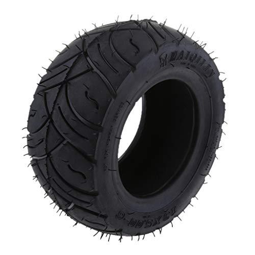 D DOLITY 1 Stück Roller-Reifen 13x5.00-6 Zoll Roller-Reifen Reifenschlauch gebogener Stamm-Innenrohr-Reifen für elektrisches Roller