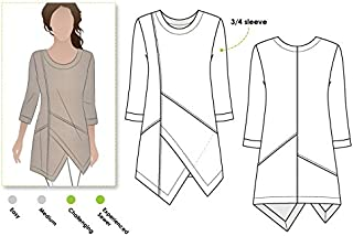 Style Arc Sewing Pattern - Lani Woven Tunic (Sizes 18-30) - Click for Other Sizes Available