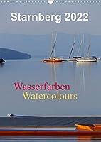 Starnberg Wasserfarben - Watercolours / Planer (Wandkalender 2022 DIN A3 hoch): Farbenfrohe Momente am Starnberger See (Planer, 14 Seiten )