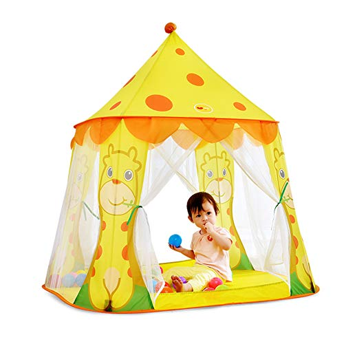 Teepee Tent For Kids, Soft And Wear-Resistant, Breathable Mesh, Portable Packaging, Tight Stitching, Exquisite Workmanship, Elastic Steel Wire