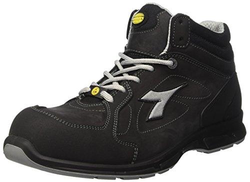 Diadora Samba Super, Heren Sneaker Low Hals, Zwart (Nero), 48 EU