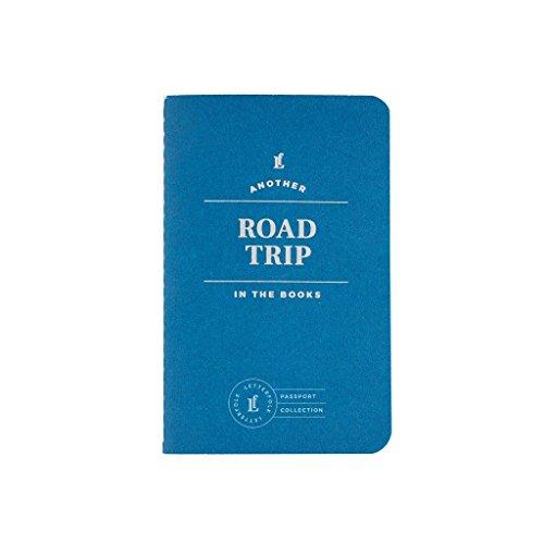 "Road Trip Passport Journal � Pocket-Sized Travel Book (3.5"" W x 5.5"" H) by Letterfolk"