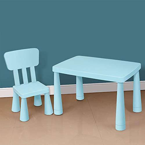 XSN Kindersitzgruppe Kindermöbel Kindersitzgarnitur Doppelte Verdickte Tischplatte,Tischbeine Können Angehoben Werden,Schreibtisch Stark Tragend