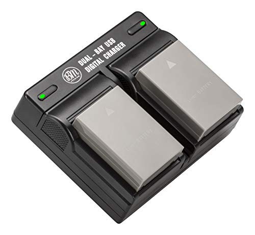 BM Premium 2 BLS-50, PS-BLS5 Batteries and Dual Bay Charger for...