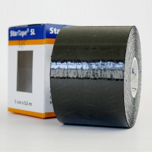 Star-Tape Kinesiologie-Tape 5,5m x 5 cm, schwarz
