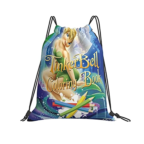 Disney Fairy Backpack Glow in The Dark Rucksack Boys Travel School Lunch Bag