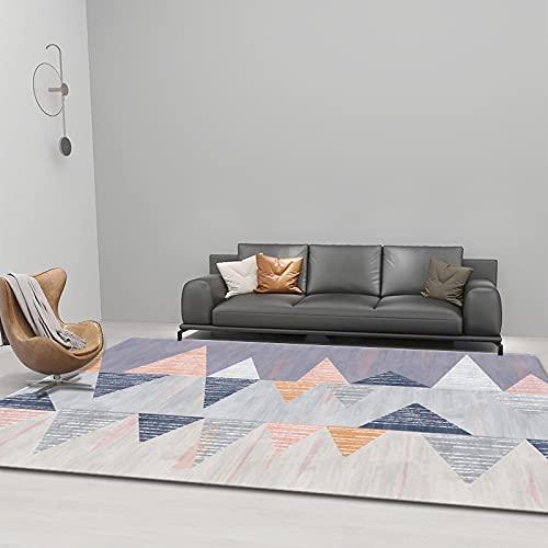 Gpink Alfombra De Estilo Minimalista De Estilo Europeo Cojín para Mesa De Centro Dormitorio Completo Manta para Dormir Impermeable Antideslizante Lavable Adecuado para Hoteles