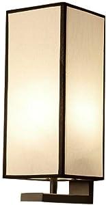 Chambre salon étude applique murale nouvelle chinoise noire E27 applique murale lampe de tissu, B
