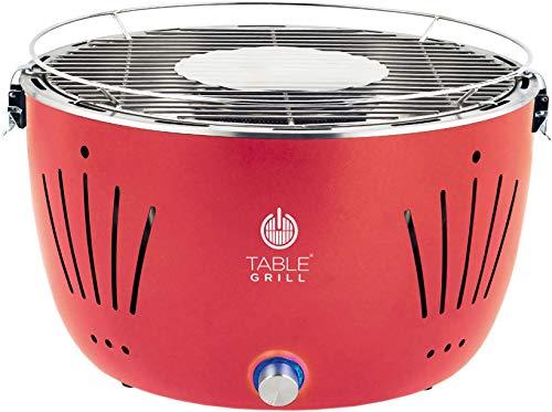 Table Grill - Churrasqueira de Mesa a Carvão Vermelha