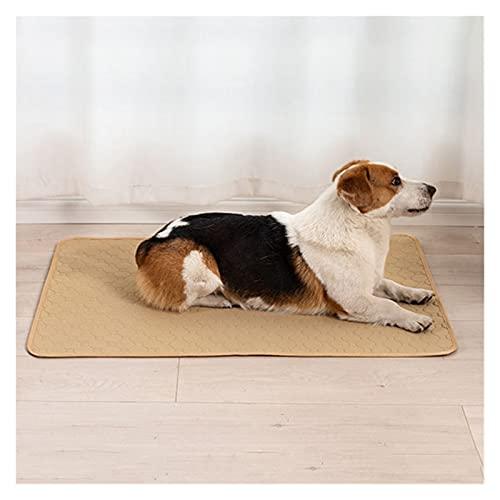 Almohadilla para mascotas Pañales reutilizables para perro gato transpirable mascota pis de pis lavable perro mascota pájaro pañal estera cama cama absorbente estera absorbente cachorro Cojín de entr