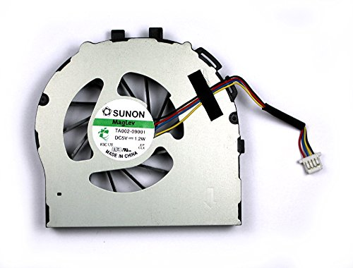 Power4Laptops Ersatz Notebook Lüfter kompatibel mit HP Elitebook 2740p