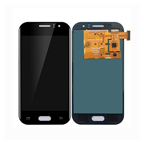 GUOQING Reemplazo de Pantalla táctil Pantalla De Teléfono Móvil Ajuste para Fit For Samsung Galaxy J1 J110 SM-J110F Pantalla Táctil Digitalizador De Pantalla Táctil Reemplazo (Color : Black)