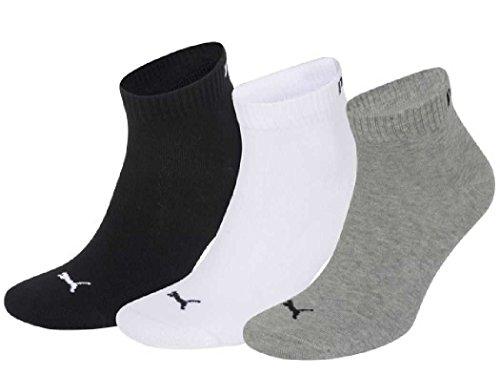 Puma Quarter Sock 3-pack