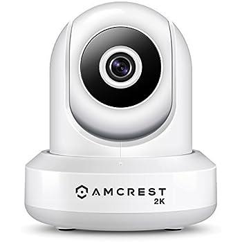 Amcrest UltraHD 2K WiFi Camera 3MP (2304TVL) Dualband 5ghz / 2.4ghz Indoor IP3M-941 (White)