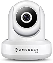 Best Amcrest UltraHD 2K WiFi Camera 3MP (2304TVL) Dualband 5ghz / 2.4ghz Indoor IP3M-941 (White) Review