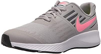 Nike Girl's Star Runner (GS) Running Shoe, Atmosphere Grey/Sunset Pulse - White, 5.5 M US Big Kid