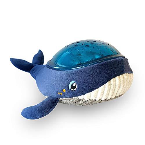 Pabobo – Kid Sleep – Aqua Dream – wanderndes Nachtlicht mit Musik und Projektor, Aqua-Dynamik für Baby und Kinder – Blau