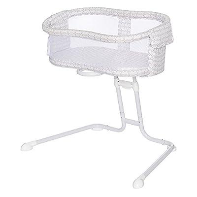 HALO BassiNest Glide Sleeper, Bedside Bassinet, Portable and Adjustable, Mosaic