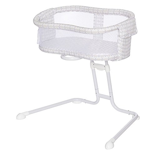 HALO BassiNest Glide Sleeper, Bedside Bassinet, Portable and Adjustable, Mosaic
