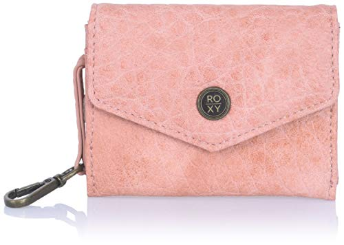 Roxy Simple Things Faux Leather Wallet, Tawny Orange