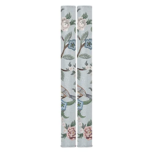 Peonies Trees Kitchen Appliance Protective Handle Covers Home Kitchen Appliances Decoration Durable