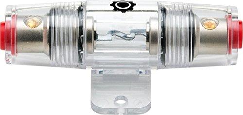 InstallGear 8/10 Gauge AWG in-Line AGU Fuse Holder with 60 Amp Fuse