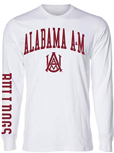 J2 Sport Alabama A&M Bulldogs NCAA Jumbo Arch Unisex Long Sleeve T-Shirt