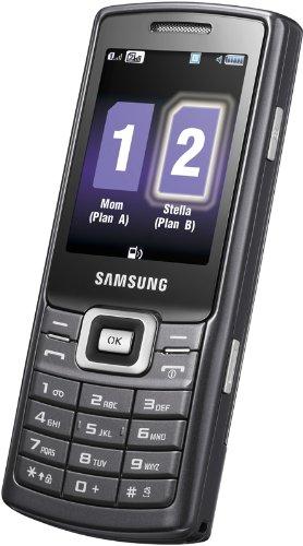 Samsung C5212 Handy (Dual SIM, Kamera, Video, MP3-Player, Bluetooth) noble-black