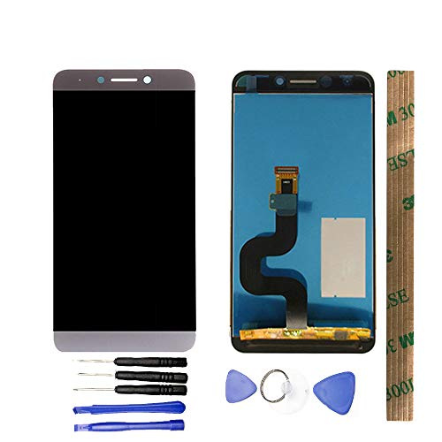 JayTong LCD Display & Replacement Touch Screen Digitizer Assembly with Free Tools for Letv LeEco Le S3 X 622 X626 X 522 X532 Gray