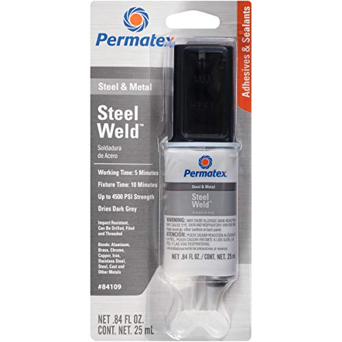Permatex 84109 PermaPoxy 4 Minute Multi-Metal Epoxy, 0.84 oz.
