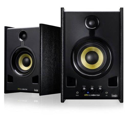 Hercules Xps 2.0 80 Dj Set Coppia di Monitor per DJ, Nero