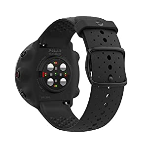 POLAR VANTAGE M –Advanced Running & Multisport Watch with GPS and Wrist-based Heart Rate (Lightweight Design & Latest Technology), Black, M-L