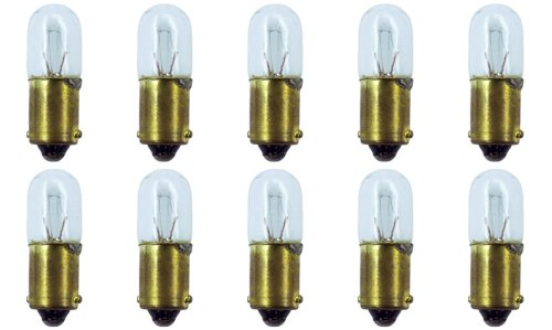 CEC Industries #1818 Bulbs, 24 V, 4.08 W, BA9s Base, T-3.25 shape (Box of 10)