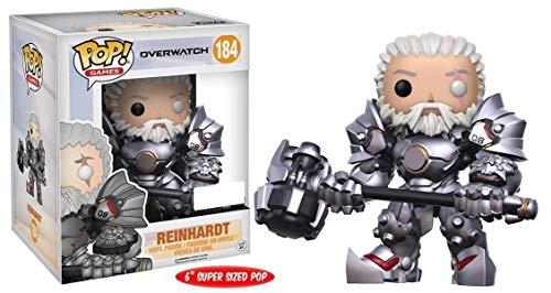 Funko 599386031 - Figura Overwatch - Reinhardt (15cm)