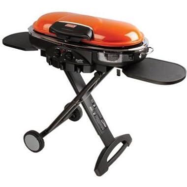 Coleman RoadTrip LXE Portable 2-Burner Propane Grill - 20,000 BTU, Orange Color
