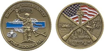 Military Productions Fort Benning Georgia Challenge Coin