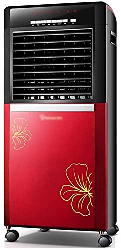 ZJDM Condizionatore d Aria Mobile Ventilatore di Aria condizionata evaporativo Mobile, Telecomando Intelligente per Ufficio Domestico Ecologia Raffreddatore d Aria a Risparmio energetico