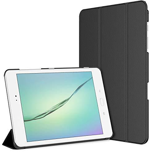 JETech 3220- Funda para Samsung Galaxy Tab A 9,7, Carcasa con Soporte Función, Auto-Sueño / Estela, Negro