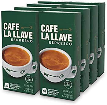 80-Count Cafe La Llave Espresso Capsules