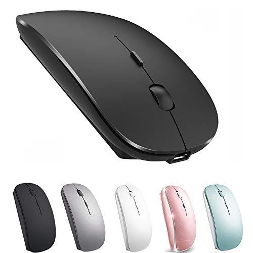 Wireless Mouse for MacBook iMac Desktop Computer Wireless Mouse (Black)