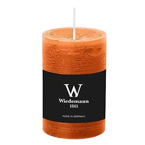 Wiedemann durchgefärbte Marble Kerze (H x Ø) 90 x 58 mm, dukat - 8 Stück