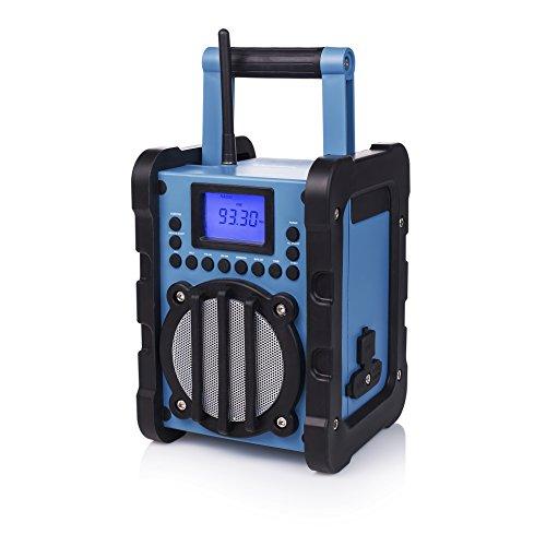 Smartwares RD-1583 Outdoor-Radio – 20 Senderprogrammierungen – USB – AUX IN