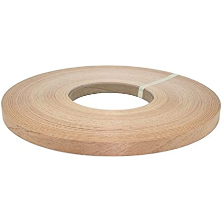 PSA Birch 3m Peel and Stick 7//8 X 10 Wood Veneer Edgebanding Simply Peel Off the Liner Roll and Trim and You Are Done! Stick Easy Application