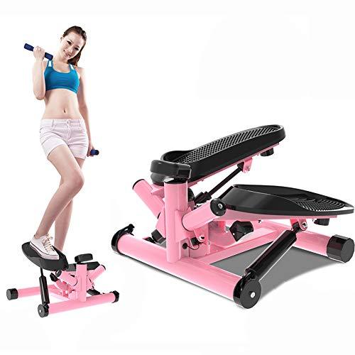 Mini Fitness hydraulische up down stepper voor mannen en vrouwen stepper cardio oefentrainer, weerstandsbanden stepper oefeningen apparatuur, wordt gebruikt voor thuis- of kantooroefeningen