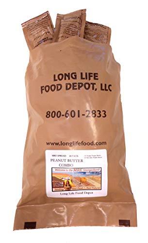 MRE Peanut Butter Spread Combo - 24 Pack