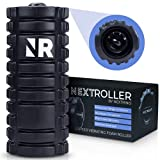 Nextrino Vibrating Foam Roller for Physical Therapy & Exercise - Deep Tissue Massage, Back Pain, Yoga, Leg Muscle Rollers - 3 Speed, High Density Massager Roll