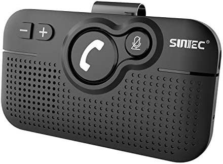 SUNITEC Hands Free Bluetooth for Cell Phone Car Kit Wireless Bluetooth 5 0 Car Speaker AUTO product image