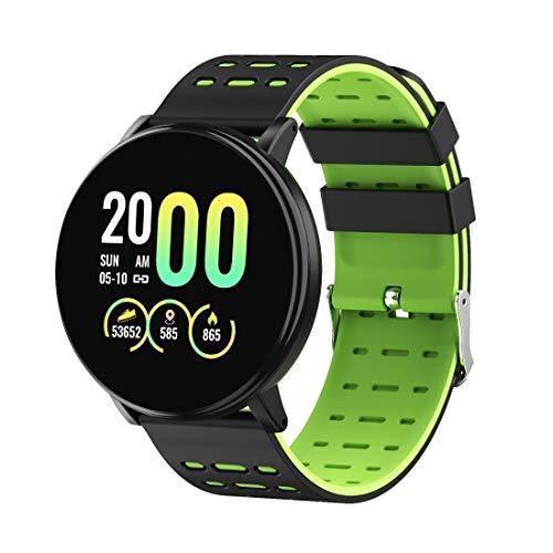 Orologi intelligenti for gli uomini, le donne, i bambini di Smart Watch, 1.3inch IPS Colore dello schermo smart teen Guarda IP68 impermeabilizzano, sostengono la chiamata promemoria multifunzione NCCZ
