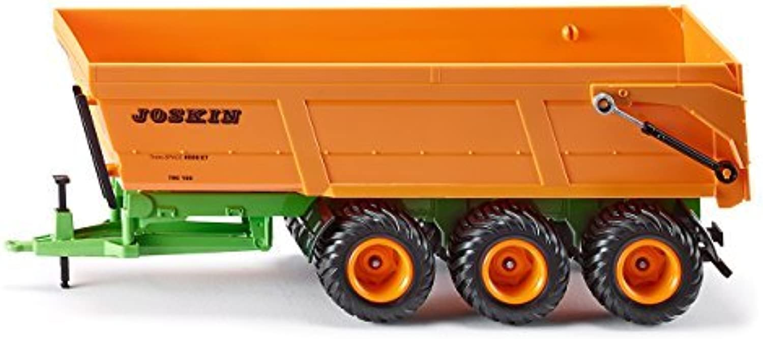 Siku 2892 Model Vehicle Joskin 3Axle Dumper Trailer 1 32 Scale with No Batteries Metal